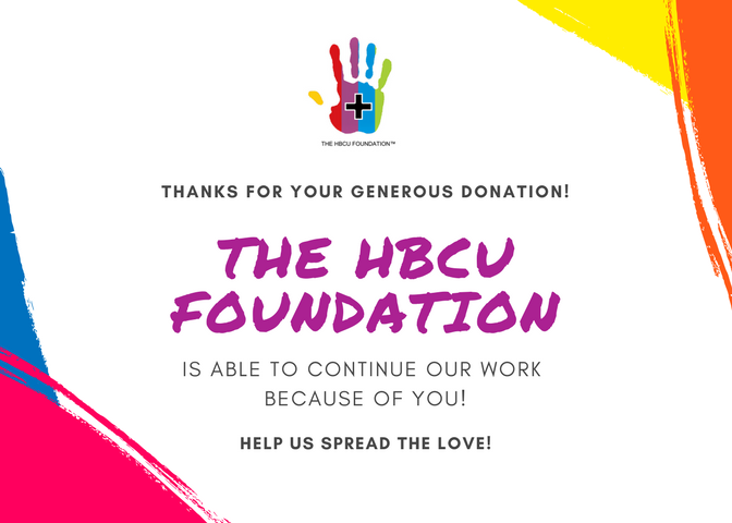 DONOR RESOURCE CENTER | The HBCU Foundation, Inc