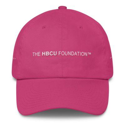 The HBCU Foundation Cap™ (White Stitching)